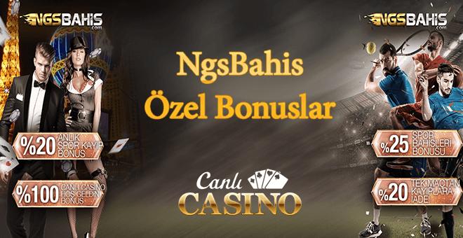 NgsBahis Sanal Kart Bonusları